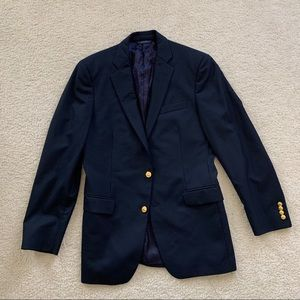 NWOT Brooks Brothers Loro Piana Blue Blazer 39L